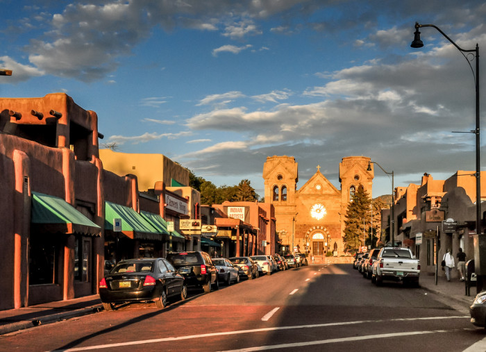 5. Santa Fe is not only the highest state capital, it's also the longest running one in the country.