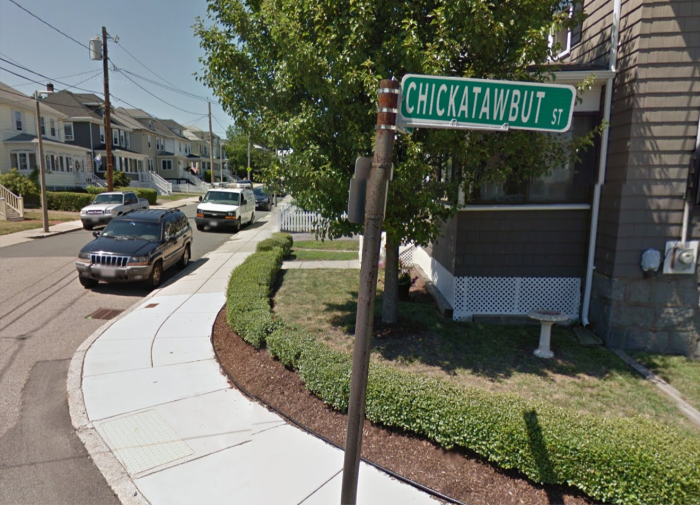 6. Chickatawbut Street, Dorchester. This one is just fun to say.