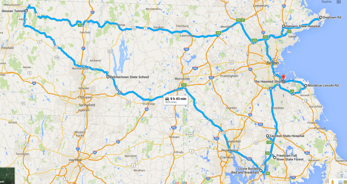 The Ultimate Terrifying Massachusetts Road Trip