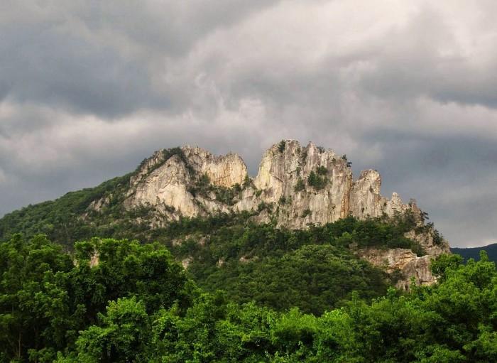 5. Seneca Rocks