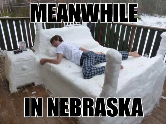 Some winters, it feels like Nebraska gets picked on weather-wise.