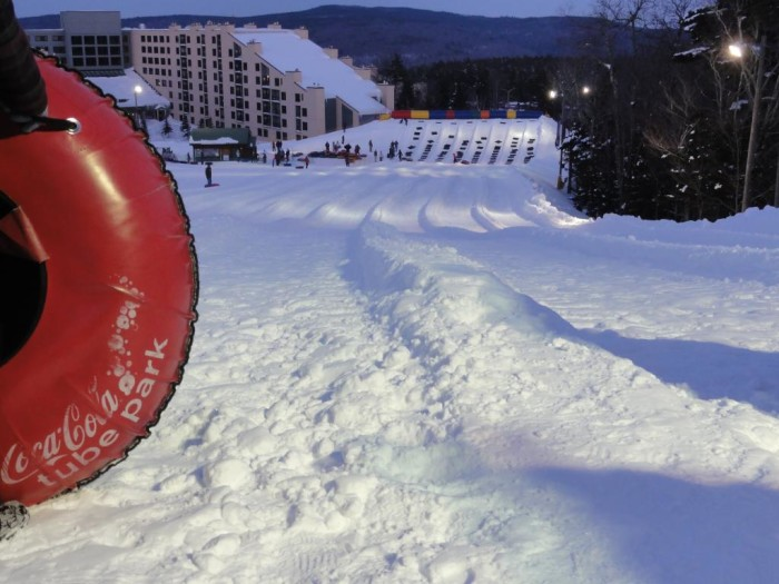 3. Coca Cola Tube Park at Snowshoe Mountain Resort