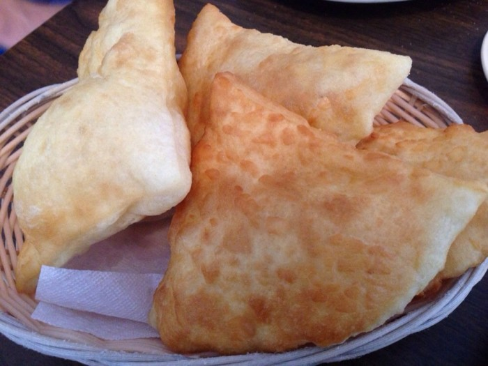 9.  And restaurants serve bread *yawn* rather than sopaipillas or chips and salsa.