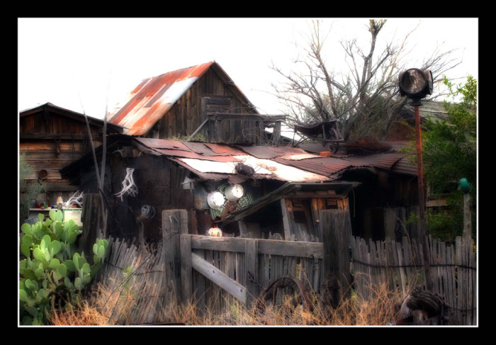 5. A dilapidated home in the ghost town of Steins (near Lordsburg).