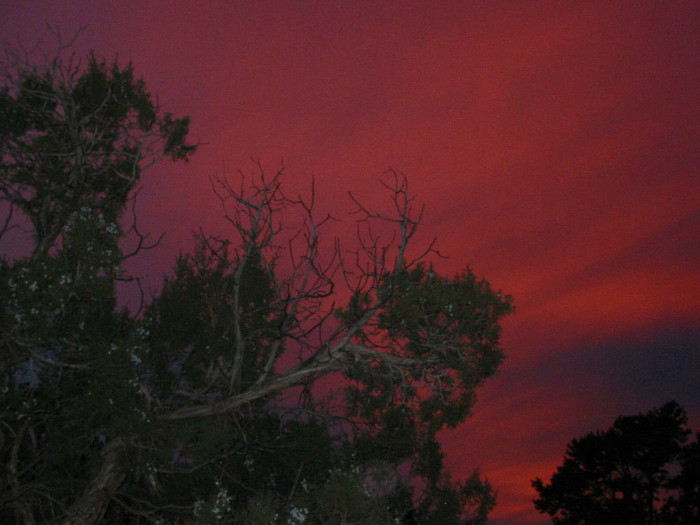 12. Finally, the sunrises and sunsets elsewhere can't rival those in New Mexico.