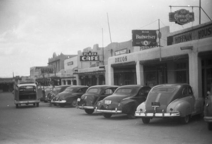 Albuquerque To Santa Fe >> 10 Vintage Photos Of New Mexico In The 1950s.