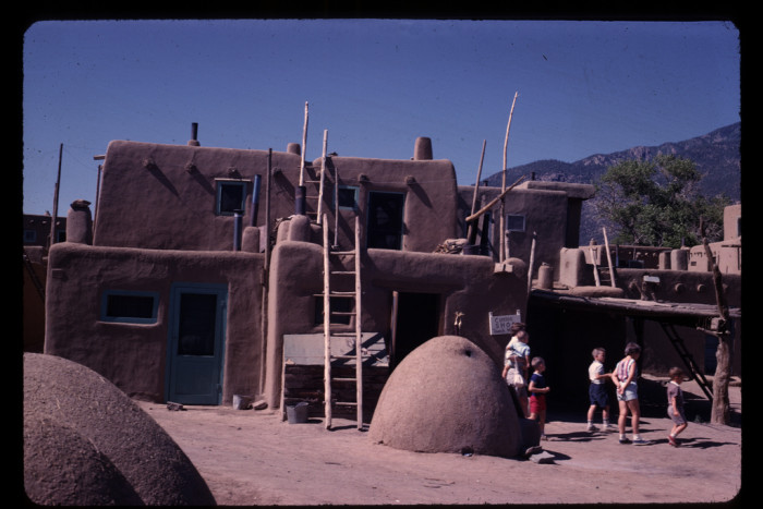 14. This photo was captured at Taos Pueblo in 1963.