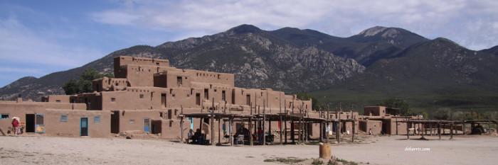 2. Taos Pueblo, Taos