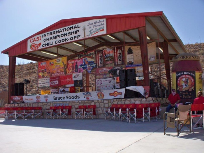 4. Terlingua is the chili capital of the WORLD!