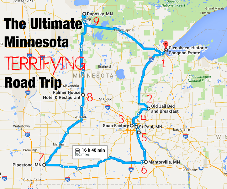 The Ultimate Terrifying Minnesota Road Trip Is Right Here And You'll Want To Do It  Only In