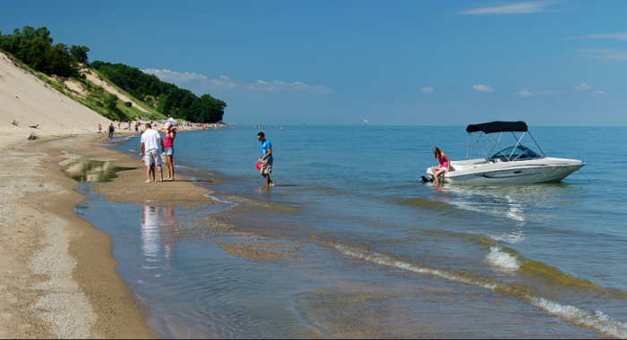 You can also go fishing, plan a boat ride, or just check out the local shops and restaurants.