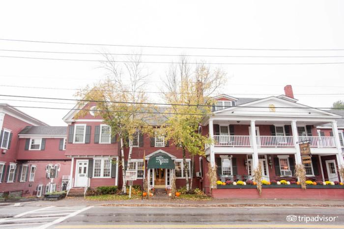 1.  Green Mountain Inn - 18 Main St., Stowe