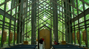 There's No Chapel In The World Like This One In Arkansas