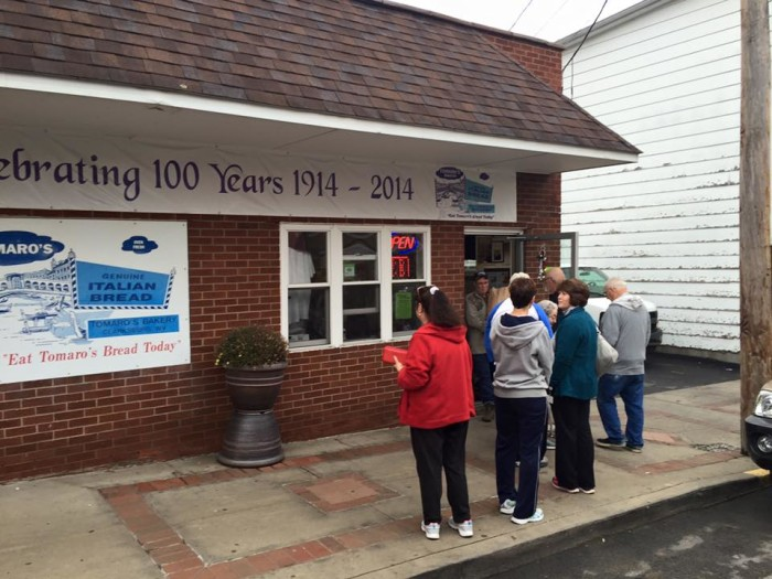 1. Tomaro's Bakery in Clarksburg