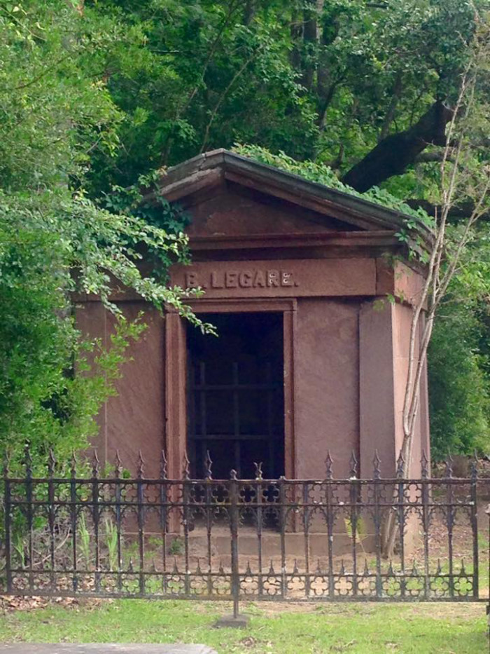 3. The tomb of Julia Legare - Presbyterian Church Cemetery - Edisto Island, SC