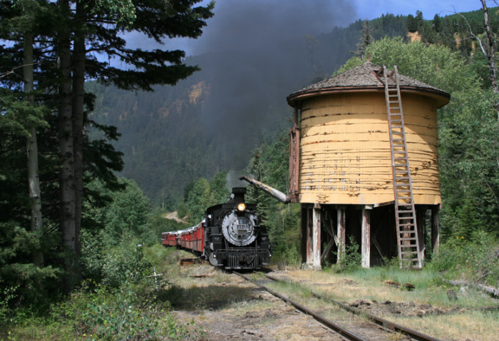 6. The Cumbres and Toltec Scenic Railroad travels from New Mexico into Southern Colorado and is a great way to appreciate our breathtaking scenery.
