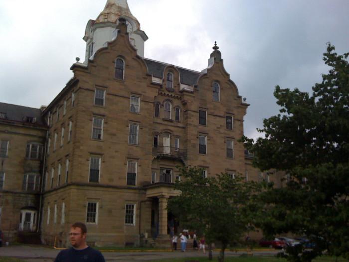 7. The Trans-Allegheny Lunatic Asylum