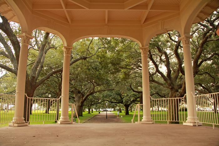 1. White Point Gardens - a.k.a. The Battery - Charleston, SC