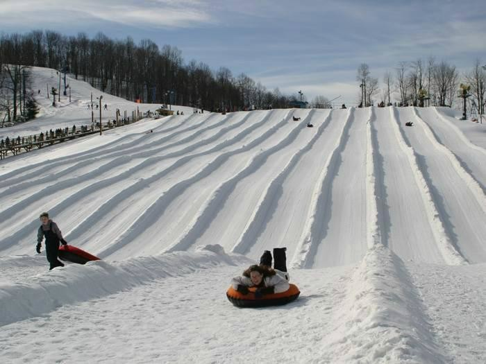 4. Winterplace Ski Resort in Flat Top