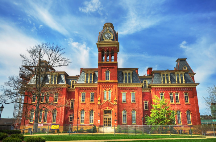 8. West Virginia University in Morgantown