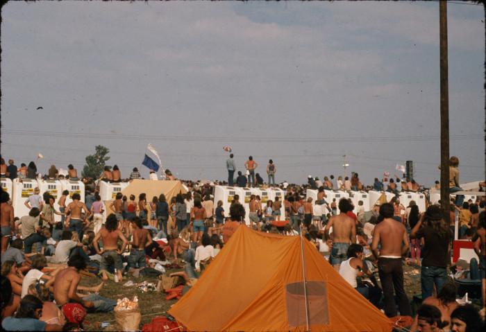 15. Things got a bit wild during the 1973 Summer Jam at Watkins Glen!