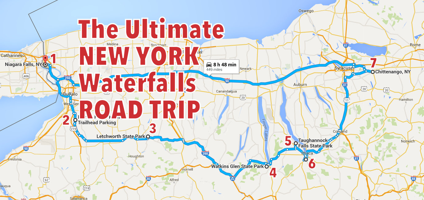 The Ultimate New York Waterfalls Road Trip on