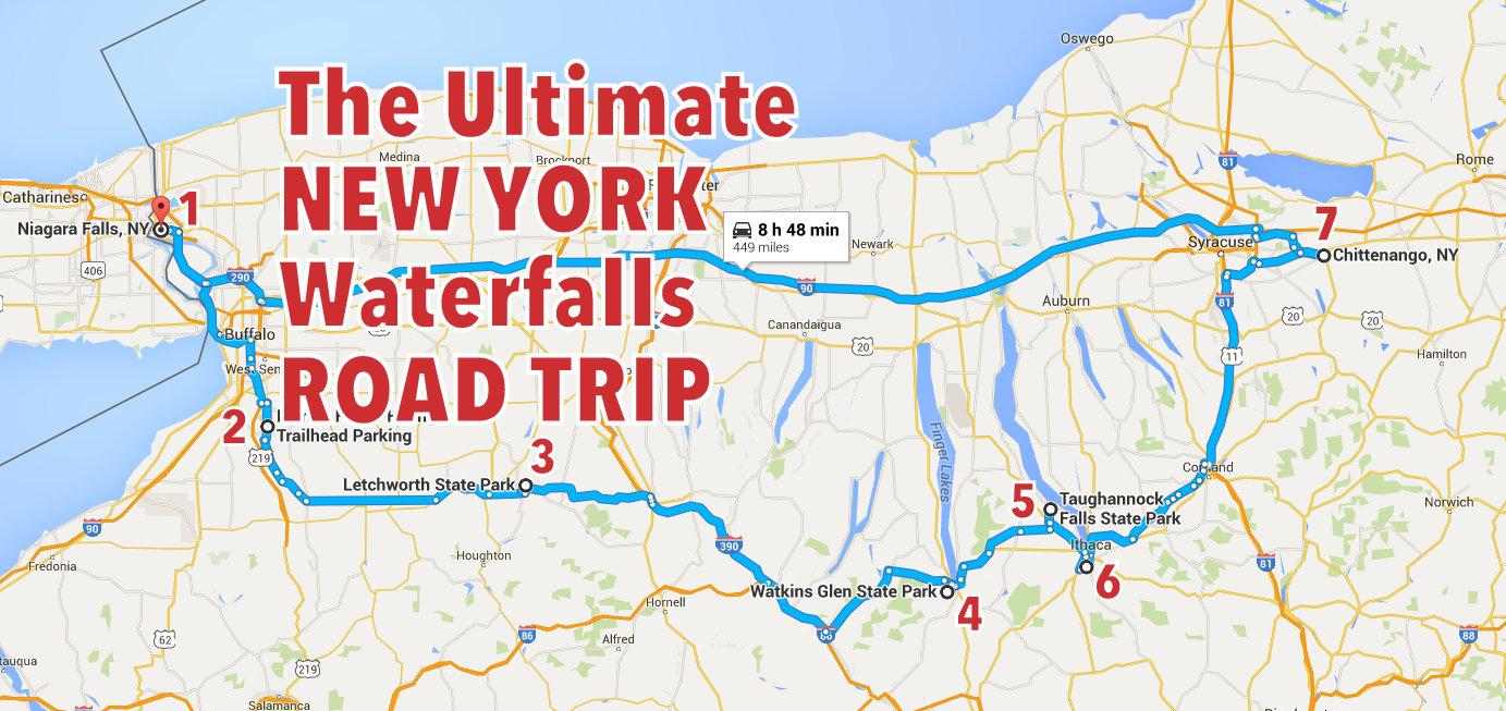 The Ultimate New York Waterfalls Road Trip