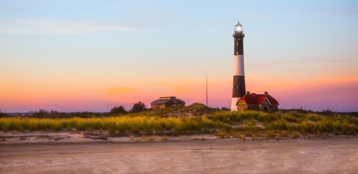 9. The lighthouse on Fire Island.