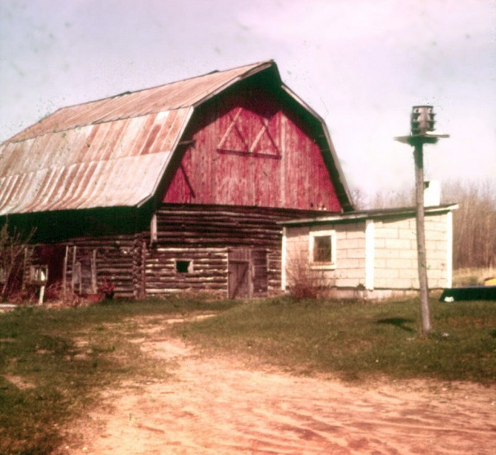 4. This picture of an Edgewater, WI barn was taken in 1975.