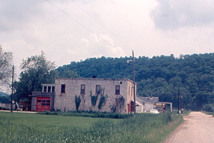 5. This photo from 1970 was of the general store (no longer standing) in Star Valley.