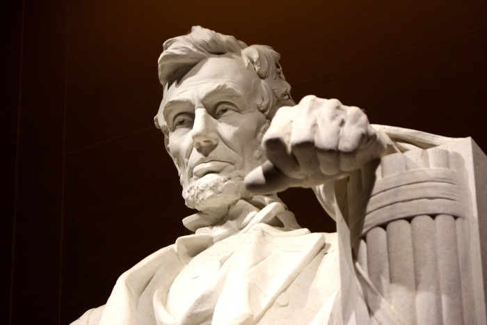 3. Honest Abe hails from Illinois.