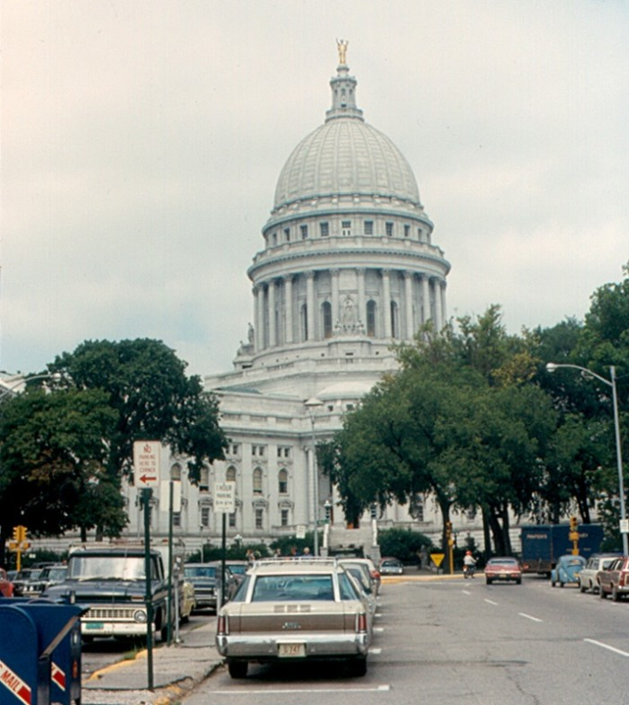 9. This is what Madison looked like in 1972.
