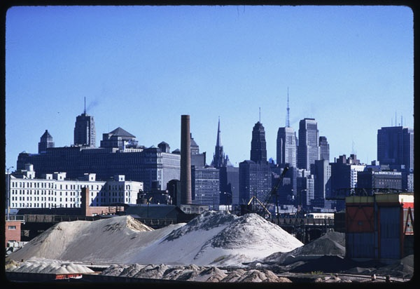 10. This is a shot of the Chicago skyline from 1958.