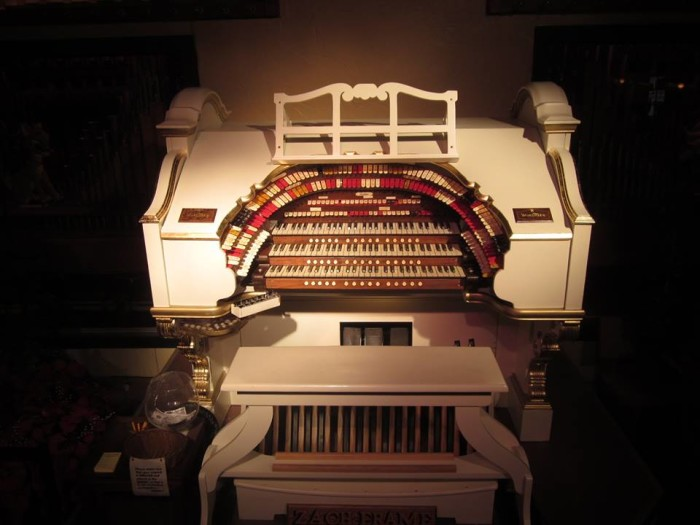 4. Here is the organ.