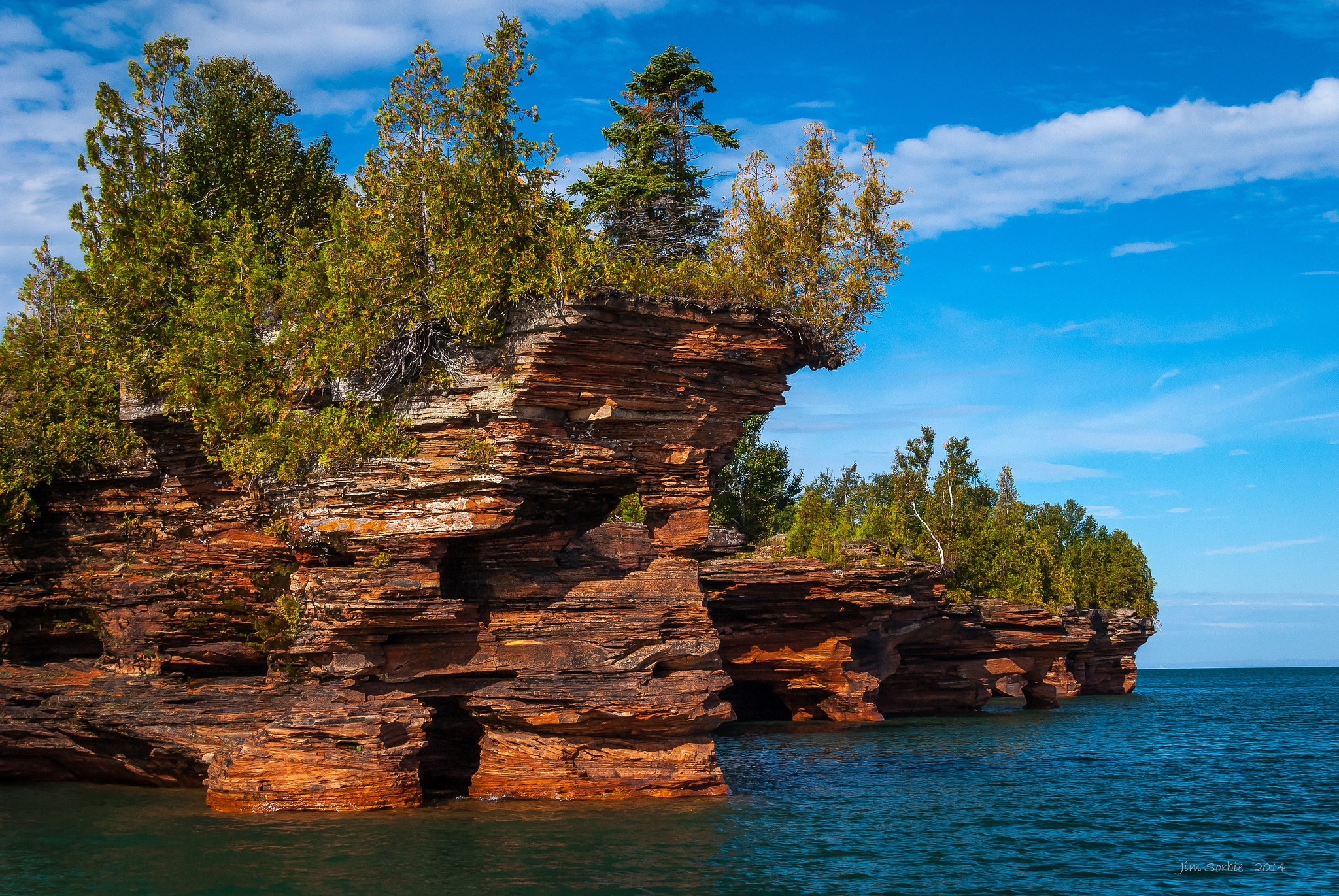 Wisconsin's Stunning Apostle Islands