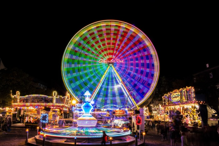 8. And so was the Ferris Wheel.