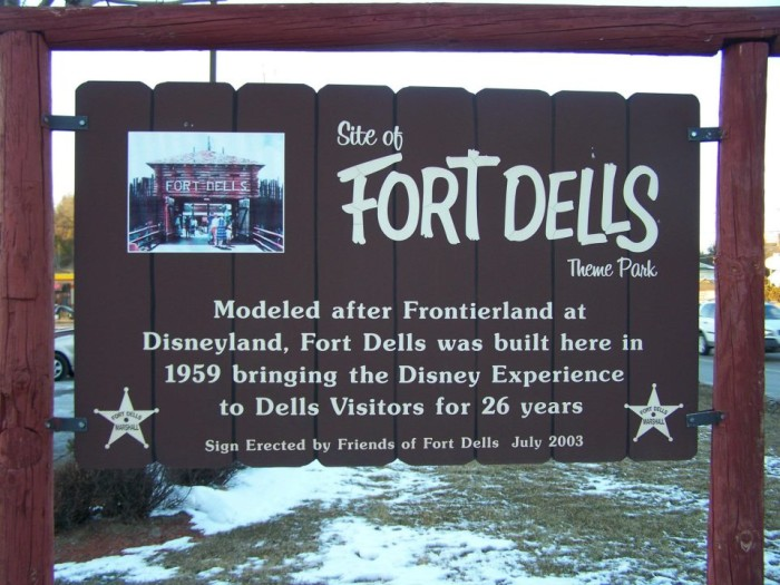 2. Now, a sign commemorates the park.