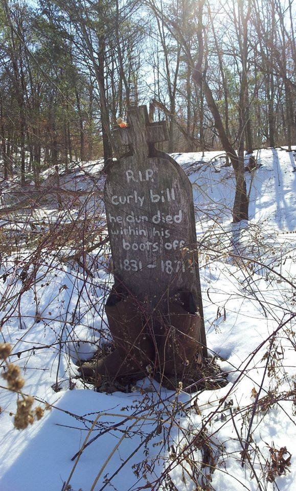 11. Sadly, this tombstone summarizes the life of Fort Dells.