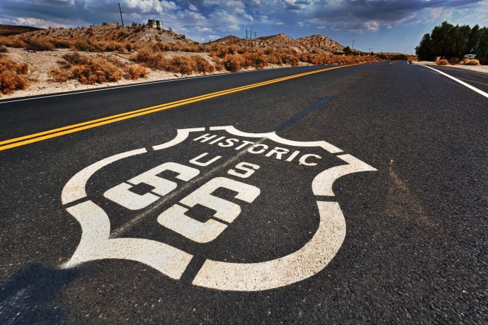 10. Historic Route 66 begins right here in Illinois.