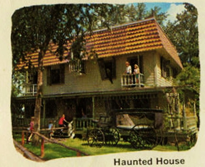 5. This was the haunted house.