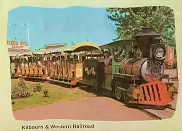 6. And this was the railroad ride.