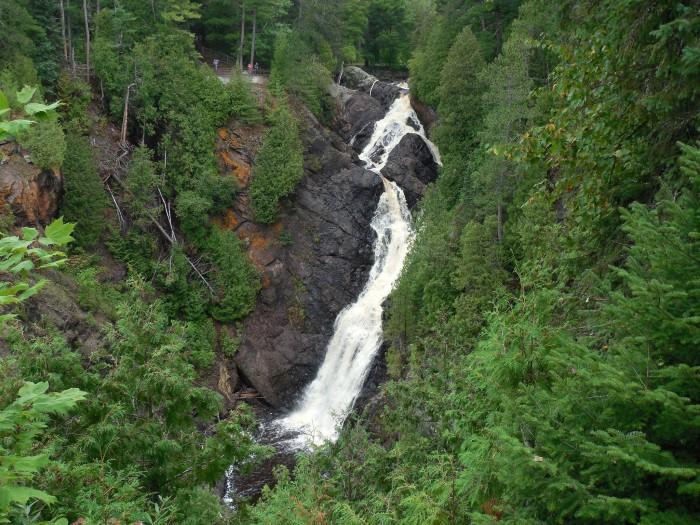 2. Big Manitou Falls
