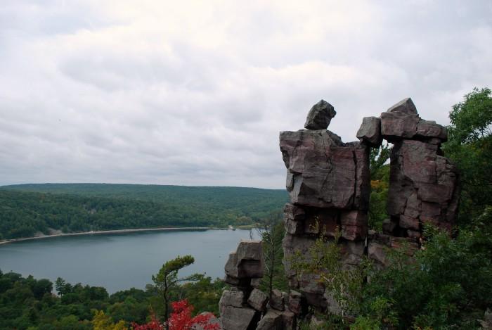 3. Devil's Lake State Park