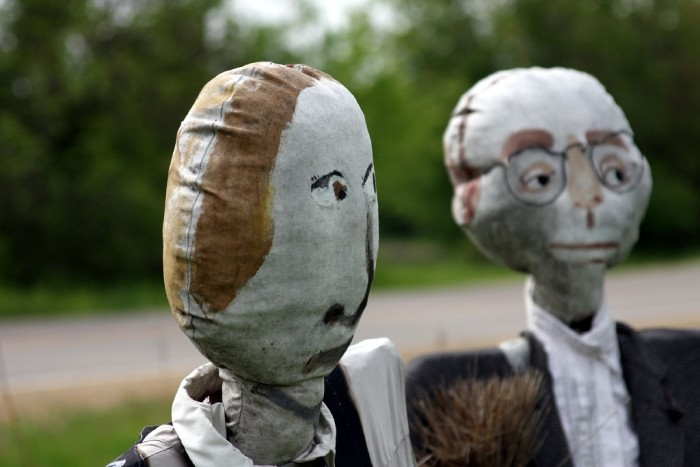 """15. The """"American Gothic"""" gets a remake in Beloit."""