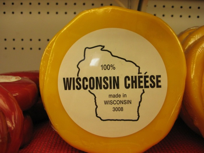 4. We produce a lot of the country's cheese.