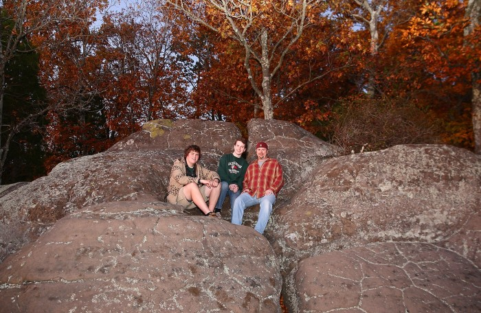 1. Garden of the Gods is located near the very bottom of the state.