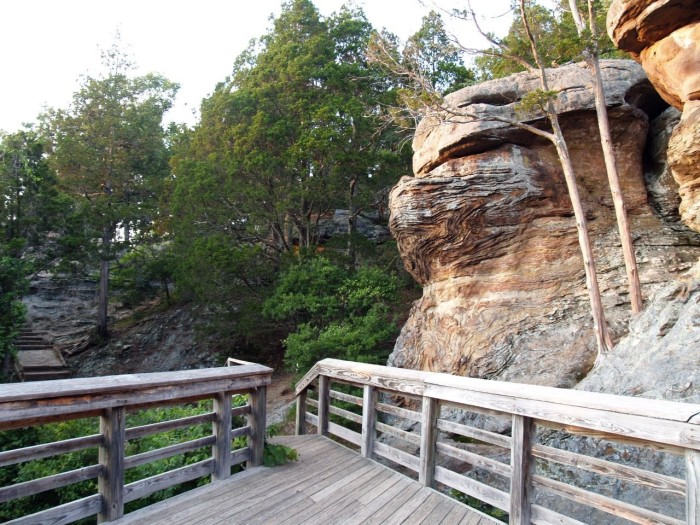 6. There are 5.5 miles of trails for you to explore these amazing bluffs.