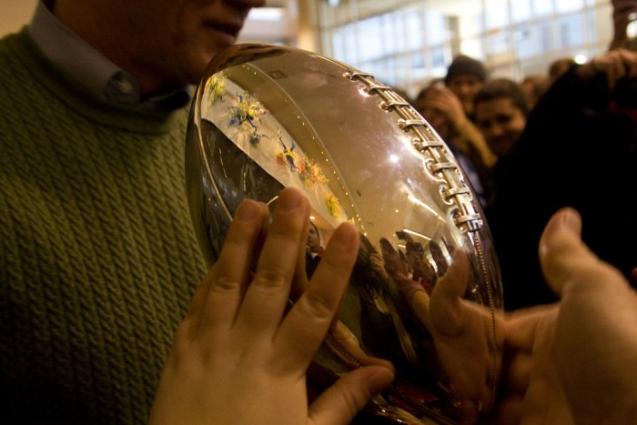7. The Lombardi Trophy