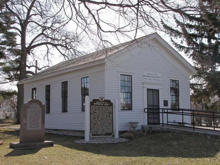 12. Little White Schoolhouse