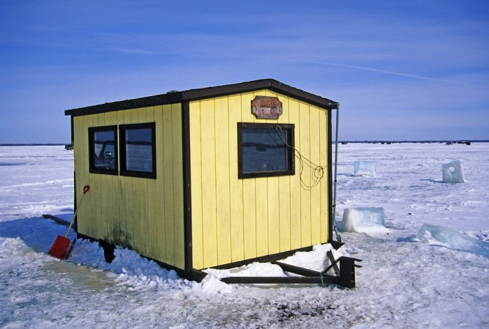 7. Don't forget about ice fishing.